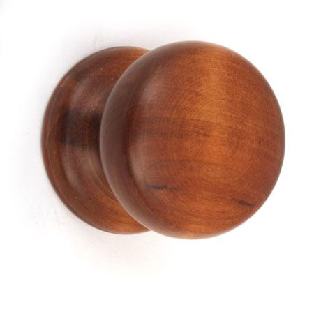 Ручка деревянная кнопка